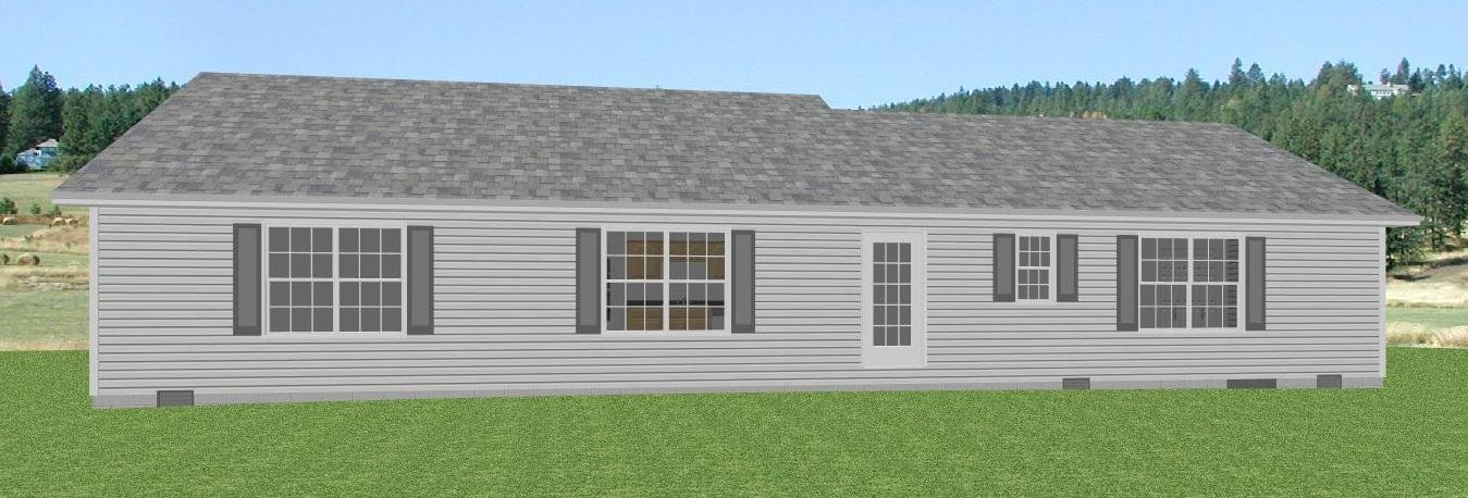 Brick ranch home plan the house plan site for Brick ranch house plans