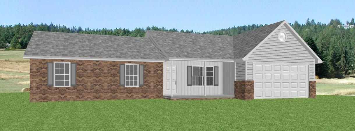 Ranch house plans single level ranch house plans one for Single level ranch house plans