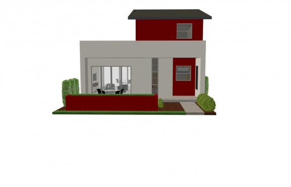 Small House Plan Front
