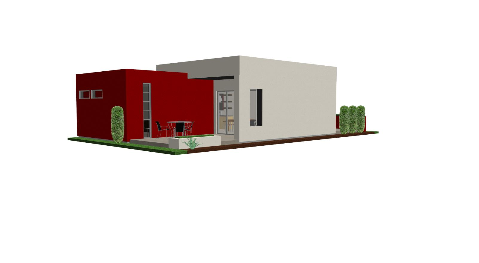 Contemporary casita house plan small house plan small for Modern tiny house plans