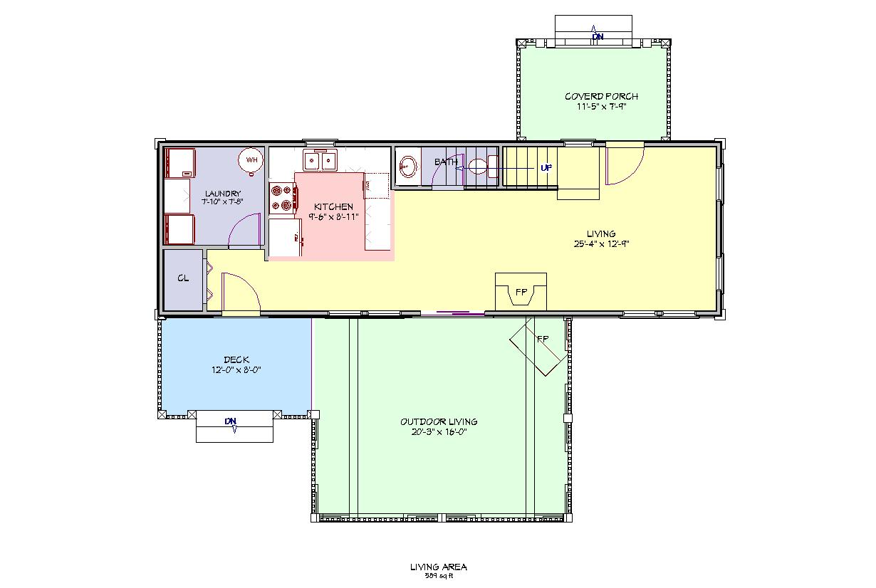 Raised Ranch Open Floor Plan 1400 Sq FtRanchHome Plans