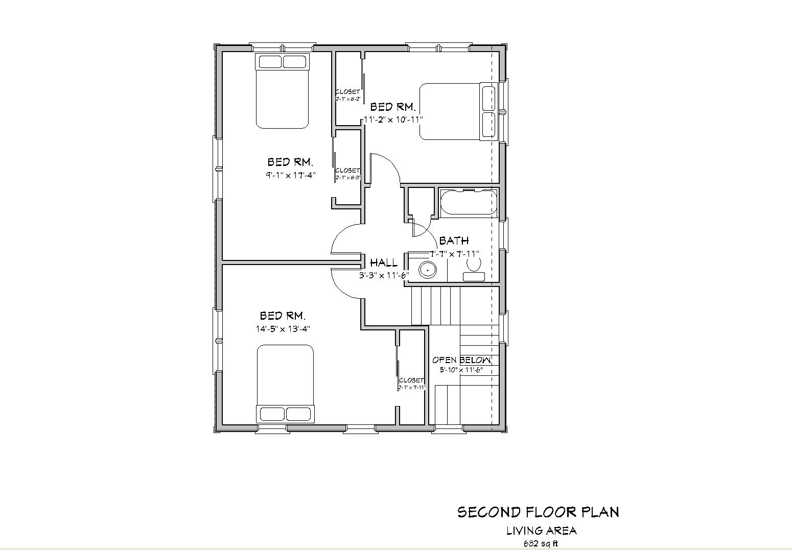 Woodwork colonial blueprints pdf pdf plans for Standard house plans free