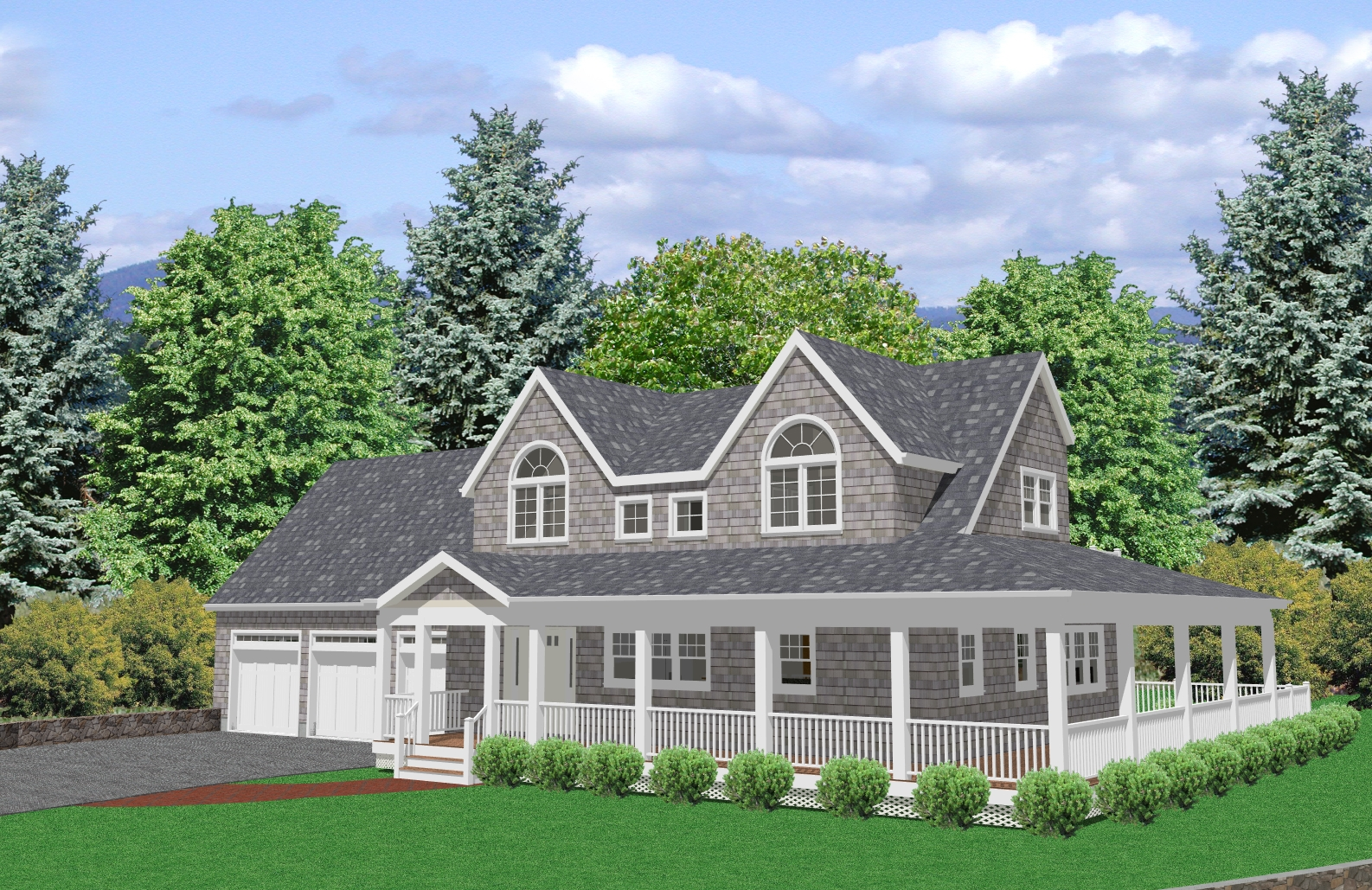 cape cod style house plans