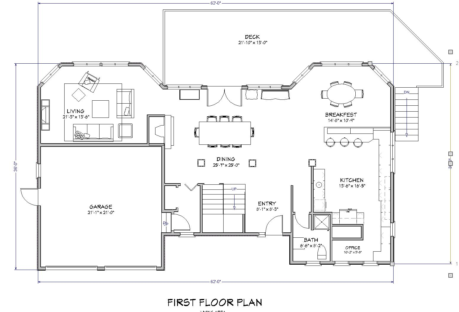 Plan, Lake House Plan, Cape Cod Beach House Plan : The House Plan Site