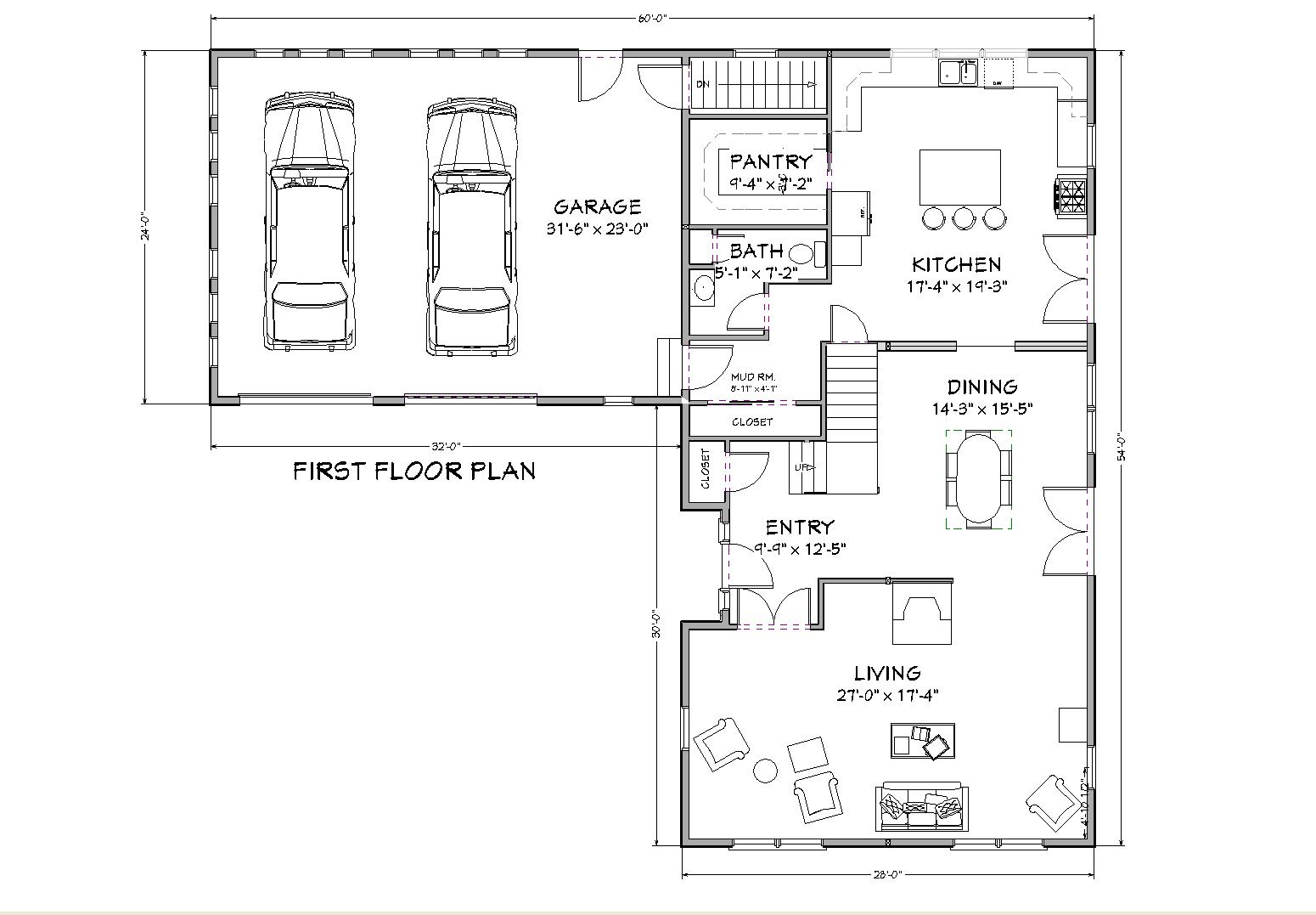 Cape cod house plan 3000 square foot house plan for 3000 sq ft apartment floor plan