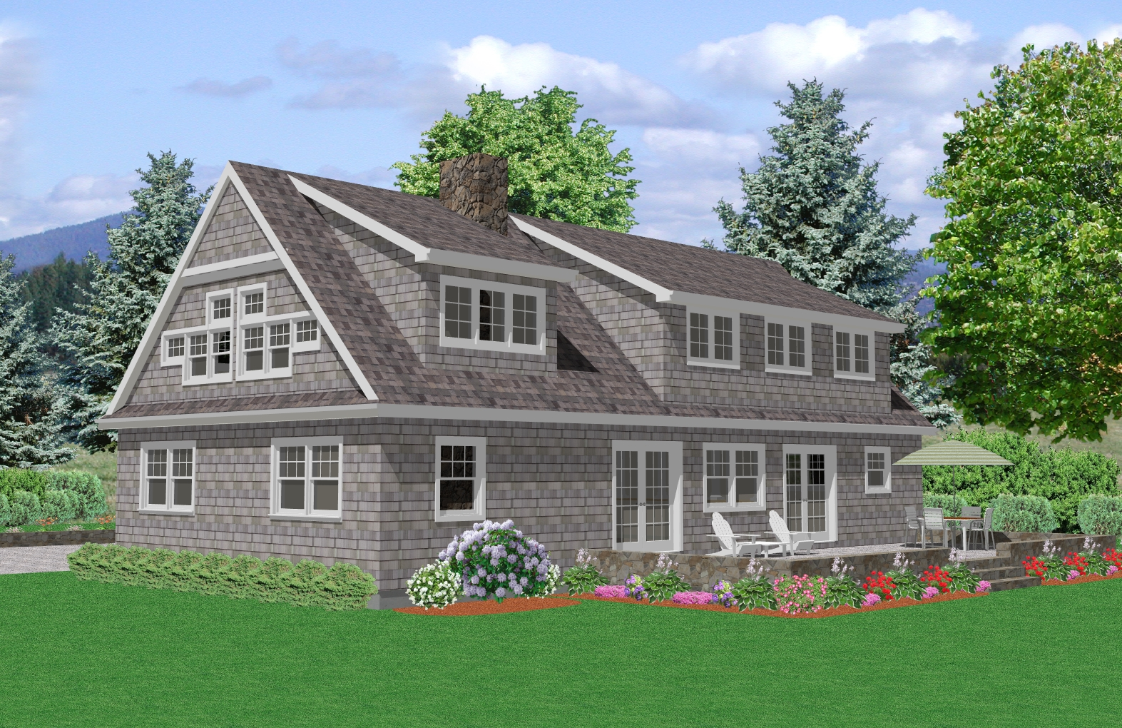 Cape Cod House Plan 3000 Square Foot House Plan