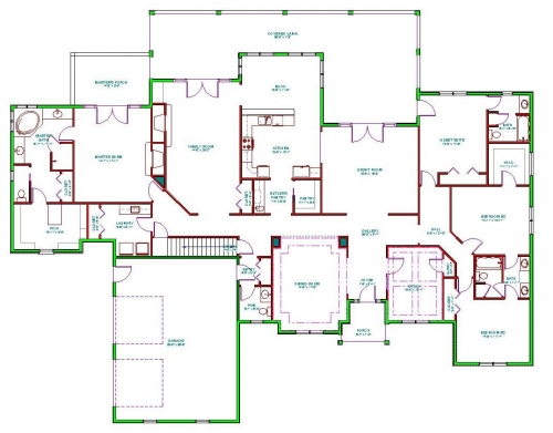 Split Level Home Plans