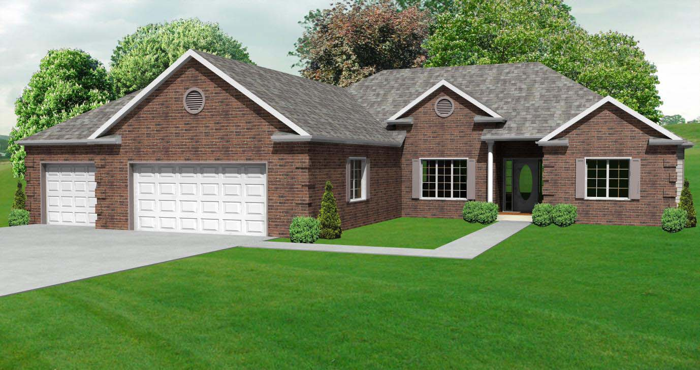 ranch hosue plan 3 bedroom ranch house plan with basement the house