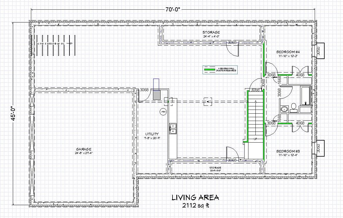 House plans with finished basement cool basement ideas for Double wide floor plans with basement