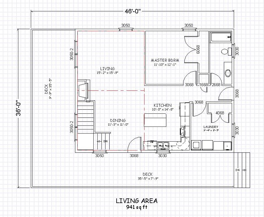 Country House Plan 8976AH - Daylight-Basement Design for Sloping